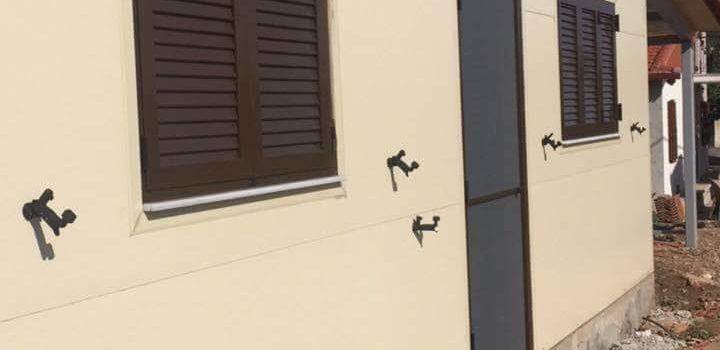 Κατασκευή οικίας με κοιλοδοκούς