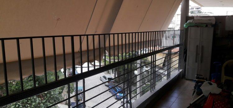 κάγκελα παιδικά μπαλκόνι