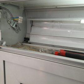Επισκευή ηλεκτρικών ρολών αντικατάσταση μοτέρ
