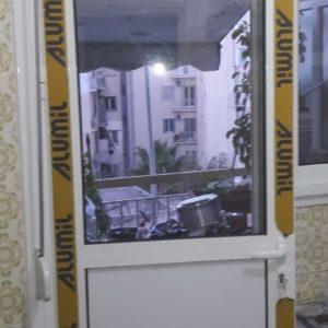 πόρτα κουζίνας alumil